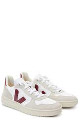 Sneakers V-10 Weiss Marsala - VEJA