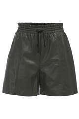 Shorts aus Lederimitat - LALA BERLIN