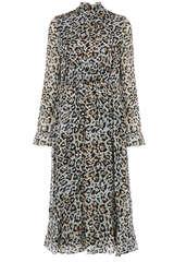 Kleid Dusty aus Fil-Coupé - LALA BERLIN