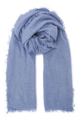 Cashmere Schal Ice Blue Royal - PUR SCHOEN