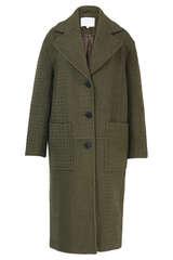 Mantel Chayenne aus Wolle - LALA BERLIN