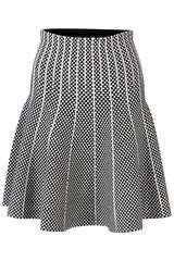 Strickrock aus Viskose - STEFFEN SCHRAUT