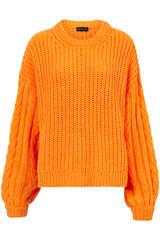 Grobstrick Pullover mit Wolle und Alpaka  - STINE GOYA