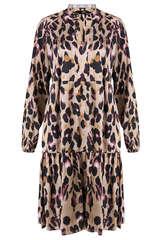 Kleid mit Leoparden Print - STEFFEN SCHRAUT