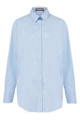 Oversize Bluse mit Baumwolle - MOS MOSH