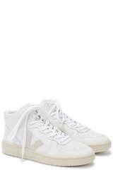 Sneaker V-15 Leather White Natural - VEJA