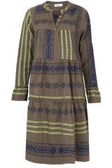 Tunikakleid aus Baumwolle - FLOWERS FOR FRIENDS