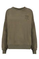 Sweatshirt mit Print aus Baumwolle - SET