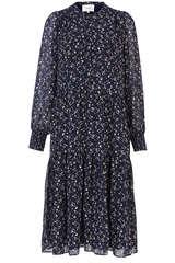 Kleid aus Chiffon  mit Print  - SECOND FEMALE