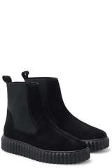 Boots Beth mit Plateau - VOILE BLANCHE