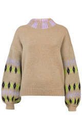 Oversize Pullover mit Fair Isle Muster - STINE GOYA