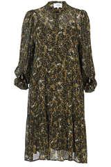 Kleid Simone aus Viskose-Chiffon   - SECOND FEMALE