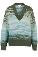 Pullover mit Superkid Mohair  - LALA BERLIN