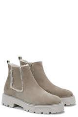 Ankle Boots mit Lammfell - KENNEL & SCHMENGER